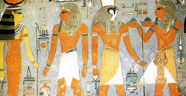Fascinating facts about ancient egypt ancient egyptians believed that the earth was flat and round according to them the nile flowed through the centre of the earth publicscrutiny Choice Image